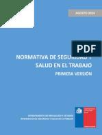 Normativa de Seguridad y Salud en El Trabajo - Primera Versin