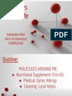 molecules around me-  2