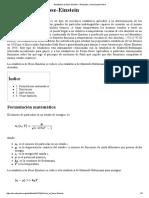 Estadística de Bose-Einstein - Wikipedia, La Enciclopedia Libre