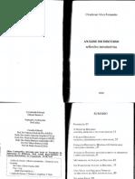 CLEUDEMAR FERNANDES - Análise Do Discurso - Reflexões Introdutorias