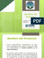 Nombre, Logotipo y Slogan Del Proucto