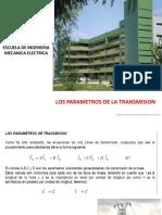 Calculo Electricos Parametros de Transmision