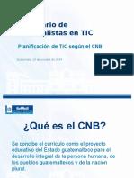 Importancia Cnb