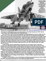 Skyhawk BuNo. 154908 A4G 887 RAN FAA Now Draken A-4K N144EM History pp154
