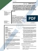 NBR 09375 - Cabos de Potencia Com Isolacao Solida Extrudada de Borracha Etilenopropileno (Epr) Bl