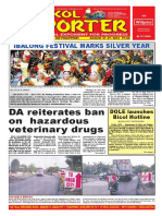 Bikol Reporter August 21 - 27, 2016 Issue