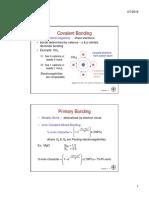 Bonding Charecteristics 2