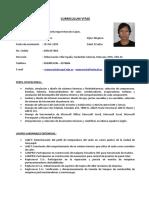 Curriculum Manuel Morocho L