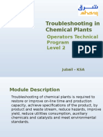 Chemical Plant Troubelshooting
