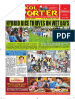 Bikol Reporter October 30 - November 5, 2016 Issue