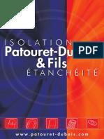 Catalogue Patouret Dubois