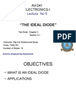 Lecture 05 Av 241 - Ideal Diode