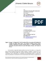 Segnalazione Presunta Violazione Art9_L28_2000