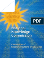 Compilation of Recommendations on Education