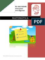 Matemática Tema 9 Valor Absoluto Versión PDF