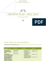 growth plan 2016