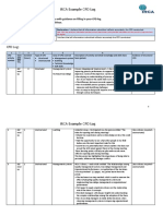 1. Example CPD Log