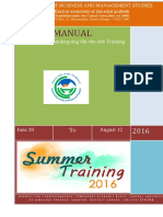 Revised Summer Placemet MBA Manual 2016-1