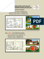 Different House Sketch Plans and Pricing for Sweet Waters Affordable Housing Services Ltd.pdf