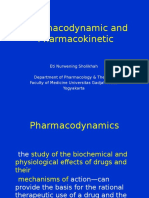 Pharmacodynamic & Pharmacokinetic