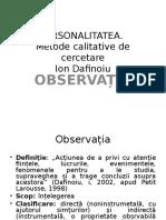 Tema - Observatia