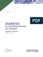 Diabetes in the Metis Nation of Ontario