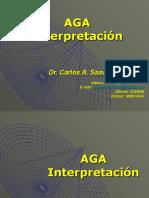 Interpretación AGA