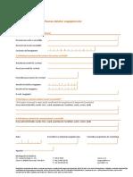 Formularul Pentru Modificarea Datelor Angajatorului