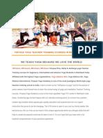 200 Hours Yoga Teacher Training in Rishikesh India Vya (1)