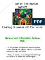 Introduction to MIS - Lecture - Management Information System - Prof Goel