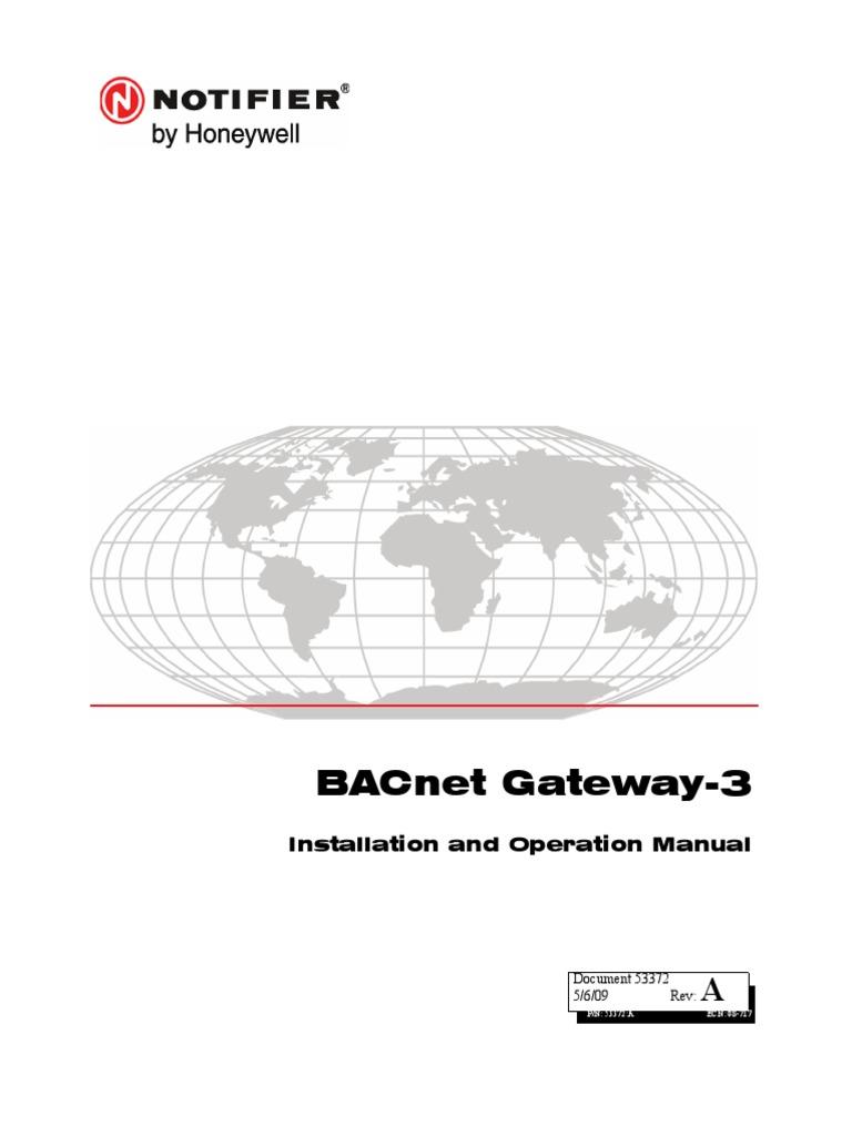 bacnet gateway notifier honeywell pdf