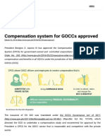 Compensation System for GOCCs Approved _ Official Gazette of the Republic of the Philippines