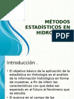 Métodos Estadísticos en Hidrología