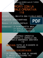 Castaldi C._rapporti Con La Centrale Operativa 118