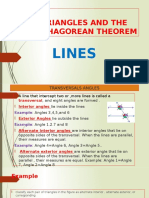 triangles and the pythagorean theorem