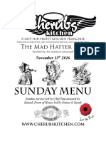 13112016 Sunday Menu - Hatter