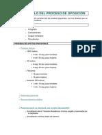Proceso Seleccion Guardia Civil 2015
