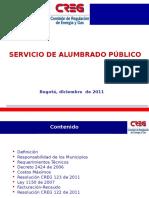 2. Alumbrado Publico - Creg