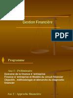 Chap III Présentation Gestion Financière