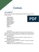 Albert Camus - Cei Drepti