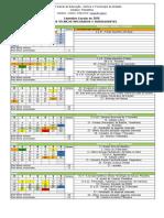 Caledário Escolar Anual IFB CPLA 2016
