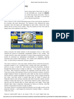 Greek Debt Crisis-Essay