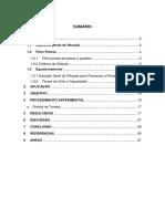 Filtraç_o - Relatório