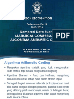 13. Arithmetic Coding