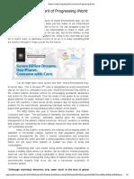 Degrading Environment of Progressing World.pdf
