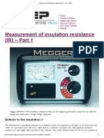 Measurement of insulation resistance (IR) - Part 1 _ EEP.pdf
