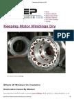 Keeping Motor Windings Dry _ EEP