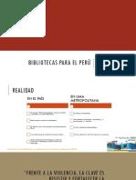 Bibliotecas Para El Perú