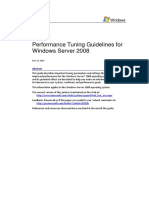 Performance Tuning Guidelines for Windows Server 2008