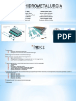 Presentación Biohidrometalurgia